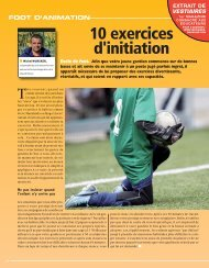 10 exercices d'initiation gardien - Ecole de Foot