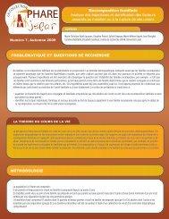 Recomposition familiale Analyse des trajectoires et identification ...