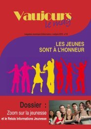 LE MAG de MAI / JUIN 2010 (pdf - 1,09 Mo) - Vaujours