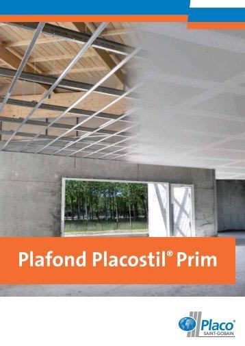 Plafond Placostil® Prim
