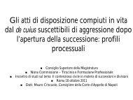 Azione di riduzione - Documento senza titolo - Consiglio Superiore ...