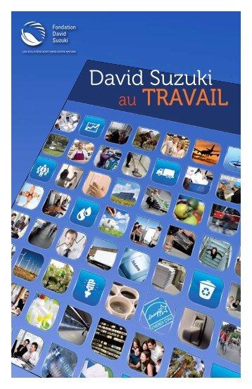 au TRAVAIL - David Suzuki Foundation