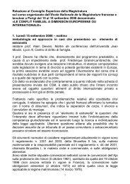 ilaria freddi - Documento senza titolo - Consiglio Superiore della ...