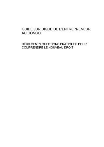 CCIAM Guide juridique OHADA du Congo.pdf - COM4DEV