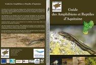 Guide des Amphibiens et Reptiles d'Aquitaine - Conseil Régional d ...