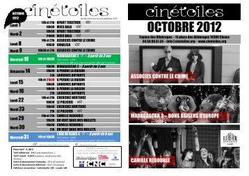 prog octobre 2012 - Cinétoiles