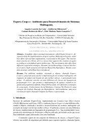 Expert–Coop++ - Departamento de Automação e Sistemas - UFSC