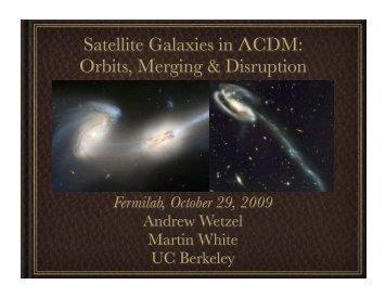 Slides - Fermilab Center for Particle Astrophysics