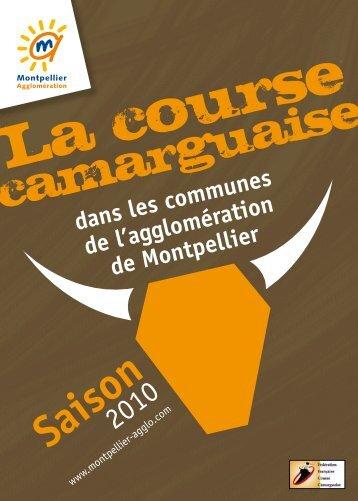 de la course camarguaise - Montpellier Agglomération