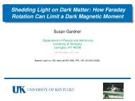 Shedding Light on Dark Matter: How Faraday Rotation Can Limit a ...