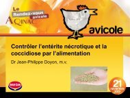 Anticoccidiens : chimiques - AQINAC