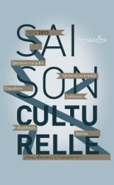 Saison culturelle 2012-2013 - La Celle Saint-Cloud