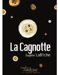 La Cagnotte - Théâtre Amazone