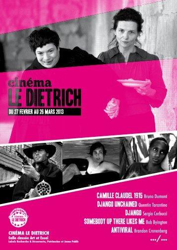 camille claudel 1915 Bruno Dumont DJANGO ... - Tout Poitiers