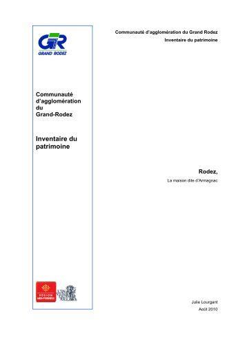 Rodez, la maison dite d'Armagnac (PDF - 6.04Mo) - Le patrimoine ...