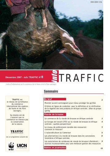 info TRAFFIC n°08 - WWF France