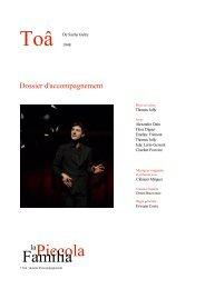 dossier pédagogique - Théâtre Gérard Philipe