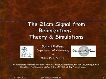 The 21cm Signal