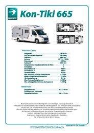 Kon-Tiki 665 - SWIFT Reisemobile + Caravans