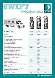 Kon-Tiki - SWIFT Reisemobile + Caravans