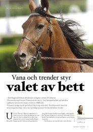 Vana och trender styr - ASVT