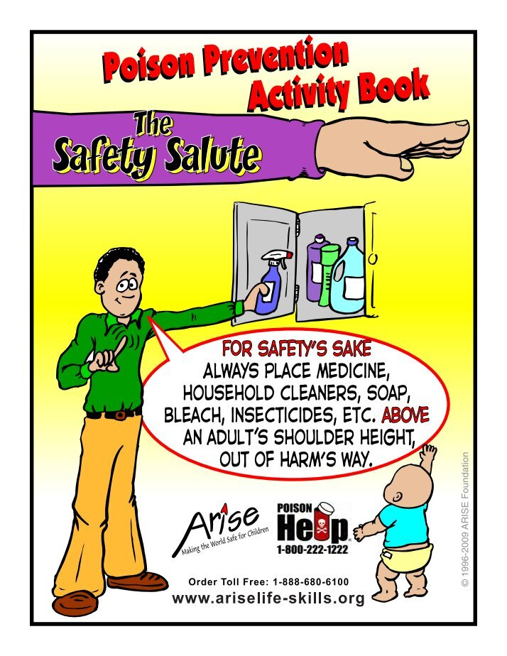 household safety preventing poisoning for parents - 714×924