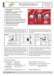 Elektro-magnetische Winkelsensoren - TWK-ELEKTRONIK GmbH
