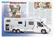 D Weltpremiere - SWIFT Reisemobile + Caravans