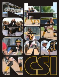 2007 SB Media Guide - College of Southern Idaho Athletics