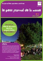 Juin 2012 le journal des quartiers nord-est L'ÉDiTO 22 ... - Ville d'Agen