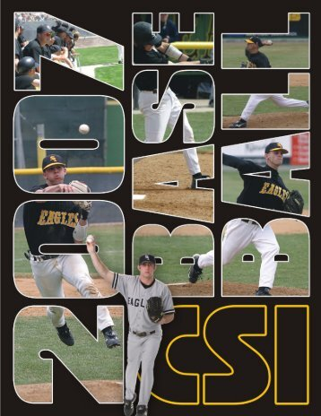 2007 Baseball Media Guide - College of Southern Idaho Athletics