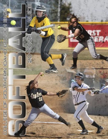 2013 SB Media Guide - College of Southern Idaho Athletics