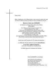 Jean SARRAZIN - Les Maitrisiens