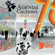 Télécharger le calendrier culturel 2012/2013 - Lens