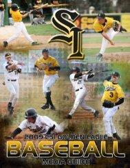 2009 Baseball Media Guide - College of Southern Idaho Athletics