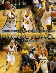 2008-09 WBB Media Guide - College of Southern Idaho Athletics
