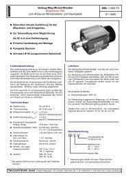 Modellreihe SWL - TWK-ELEKTRONIK GmbH