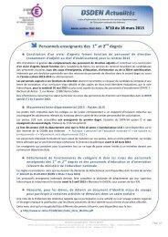 N°10 du 18 mars 2013 - Académie de Reims