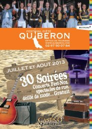 Téléchagez la brochure des soirées d'été - Office de tourisme de ...