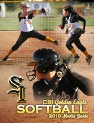 2010 SB Media Guide - College of Southern Idaho Athletics