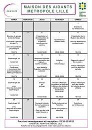 Programme juin 2013 - Clic Respa