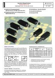Modellreihe IW 150 - TWK-ELEKTRONIK GmbH