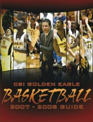 2007-2008 Men's Basketball Media Guide - College of Southern ...