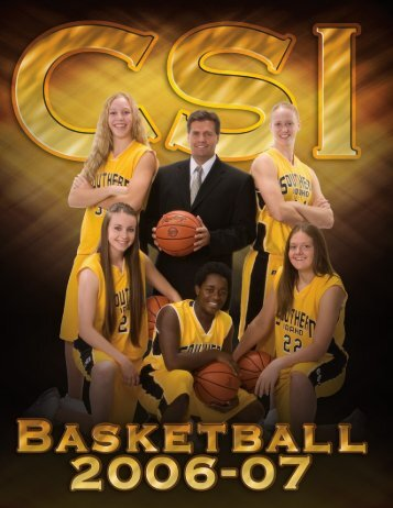 2006-07 WBB Media Guide - College of Southern Idaho Athletics