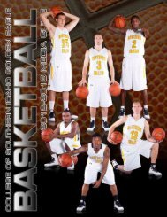 2012-2013 Men's Basketball Media Guide - College of Southern ...