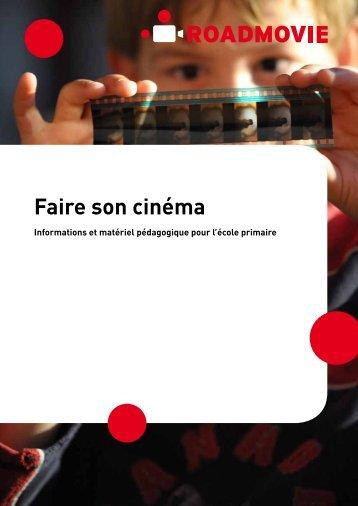 Dossier pédagogique pour l'école primaire [pdf] - Roadmovie