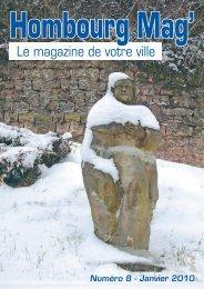 MAGAZINE H-H n° 8.indd - Ville de Hombourg-Haut
