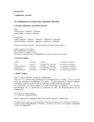 Conditionnel, coursM1