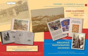 Télécharger le catalogue - Thierry, Lannon et associés