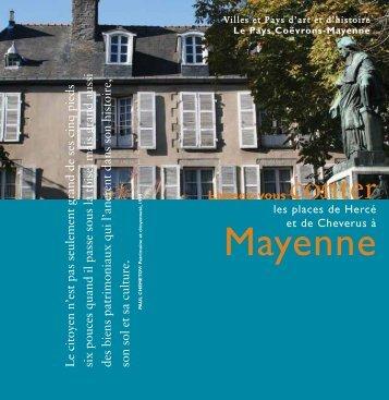 Laisser-vous conter les places à Mayenne:Mise - office de tourisme ...
